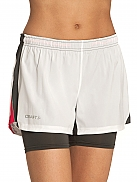CRAFT Performance Run Fast Shorts 2-In-1 W
