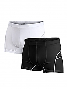 CRAFT Stay Cool Bike Boxer Doublepack black-white