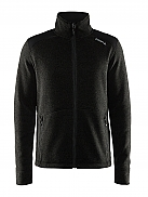 CRAFT Casual Zip Fleece Jacket Heavy Knit