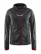 CRAFT Run Weather Jacket mit Kapuze
