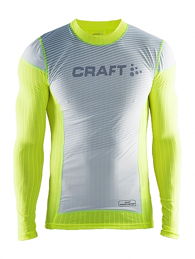 CRAFT Be Active Extreme 2.0 Brilliant Windstopper Crewneck Longsleeve