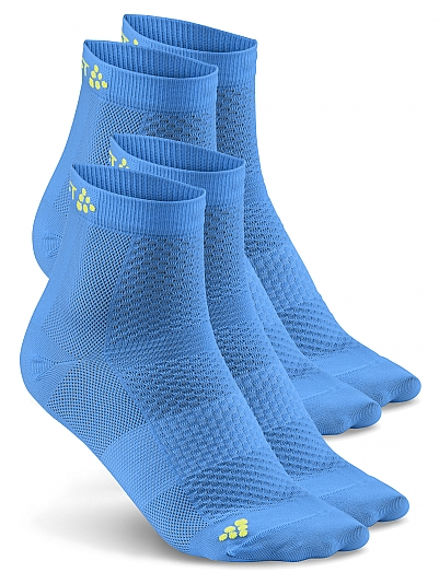CRAFT Stay Cool Mid Sock, 2-Pack